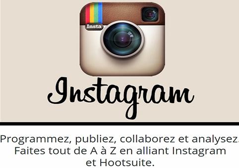 faites tout en alliant instagram et hootsuite