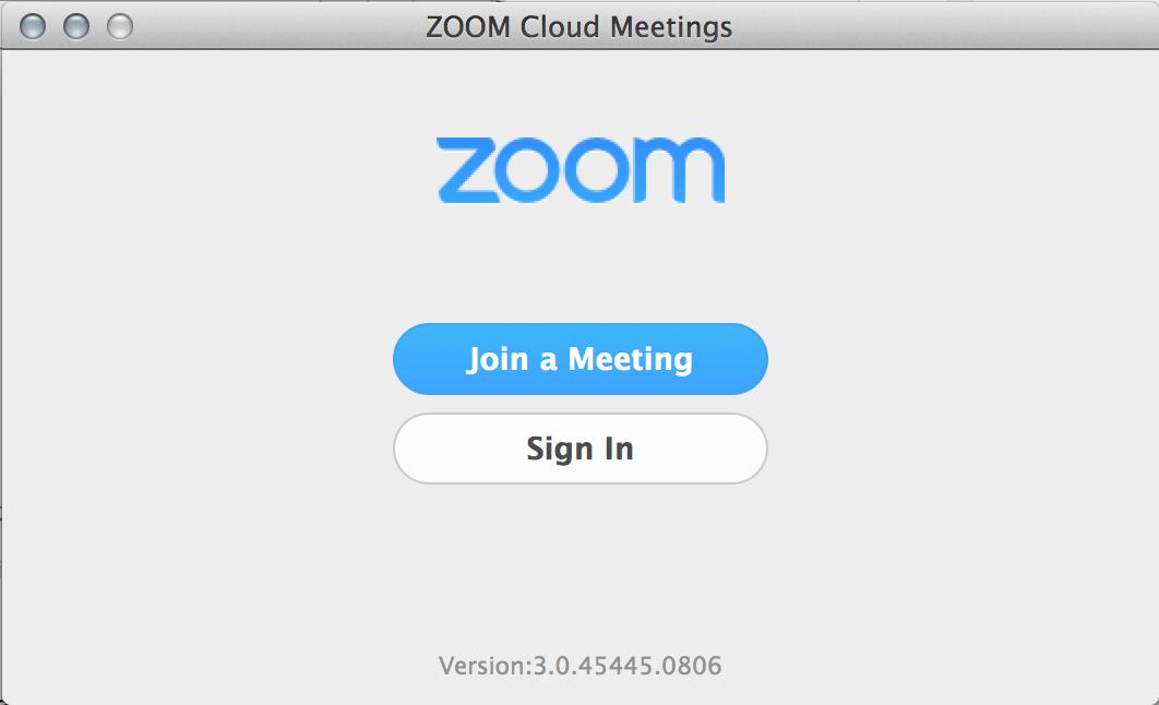 zoom us