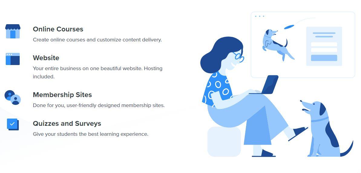 Création de formation en ligne via une plateforme tout-en-un