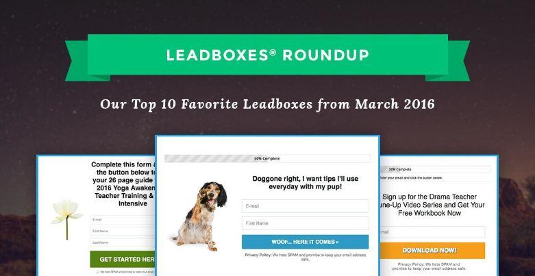 Les fonctionnalités de LeadBoxes