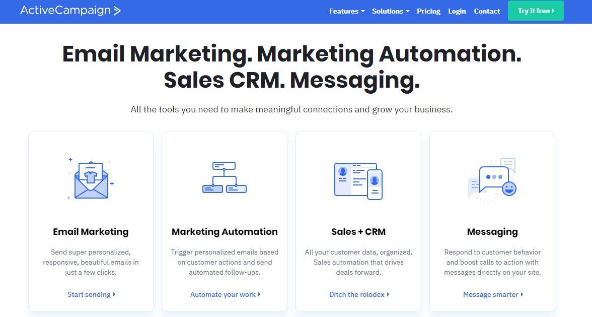 Activecampaign pour la gestion de campagnes de mailing
