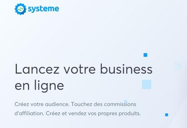 Système.io, une solution clé en main du webmarketeur