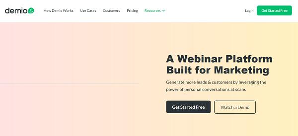 Opter pour Demio, le meilleur logiciel du digital marketing, pour optimiser vos webinaires