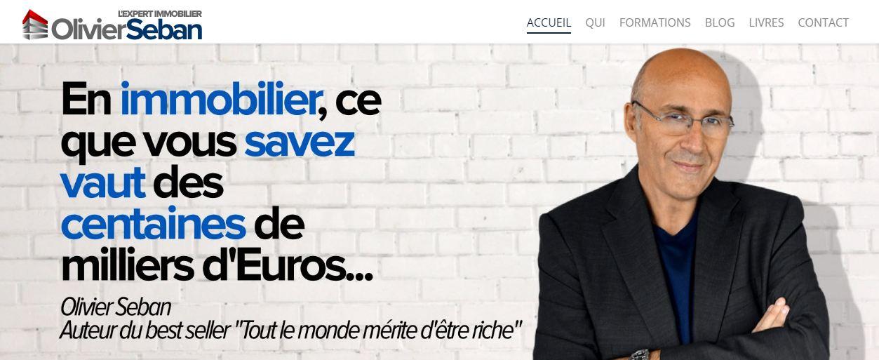 Olivier Seban, un millionnaire depuis 30 ans