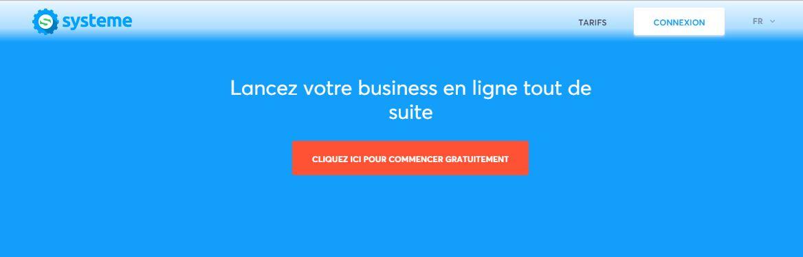 Système.io, la plateforme de gestion optimale de business en ligne
