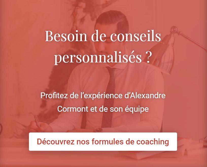 Alexandre Cormont, le coach Love, mais pas que