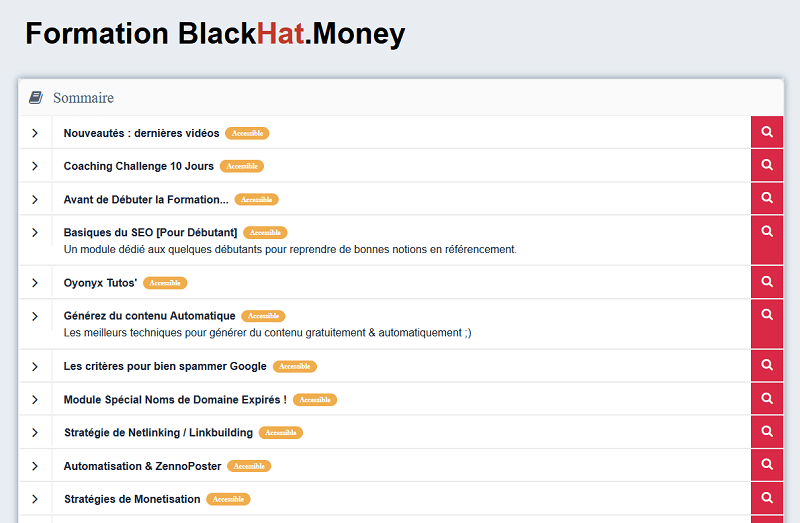 black hat money formation