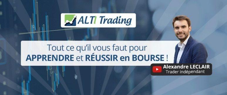 ALTI Trading : Avis sur les Formations en Bourse d'Alexandre Leclair