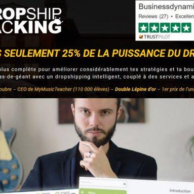 Dropship Hacking : Avis sur la Formation Dropshipping de Business Dynamite