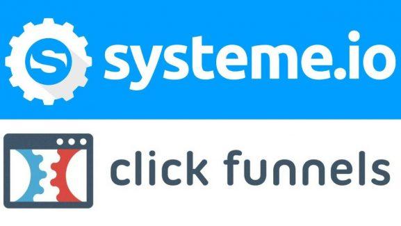 Système.io ou Clickfunnels ? Quel est le Meilleur Outil Marketing ?