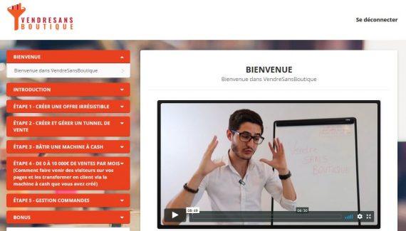 """Formation """"Vendre sans Boutique"""" : Avis sur la Méthode de Mathieu Moreno"""